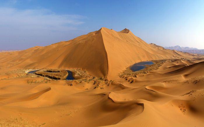 【探寻腾格里沙漠最高峰--香炉峰3日游(强度较大)】