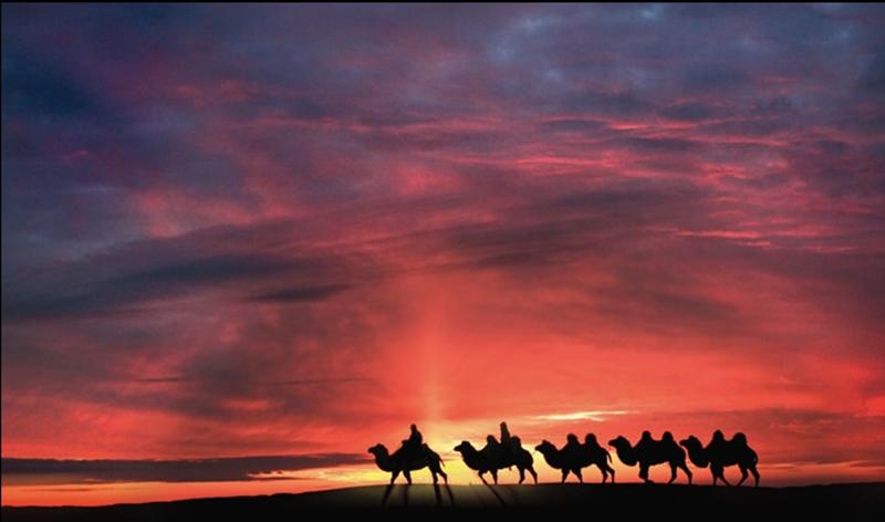 【体验丝绸之路,骑骆驼穿越腾格里大沙漠三日游】
